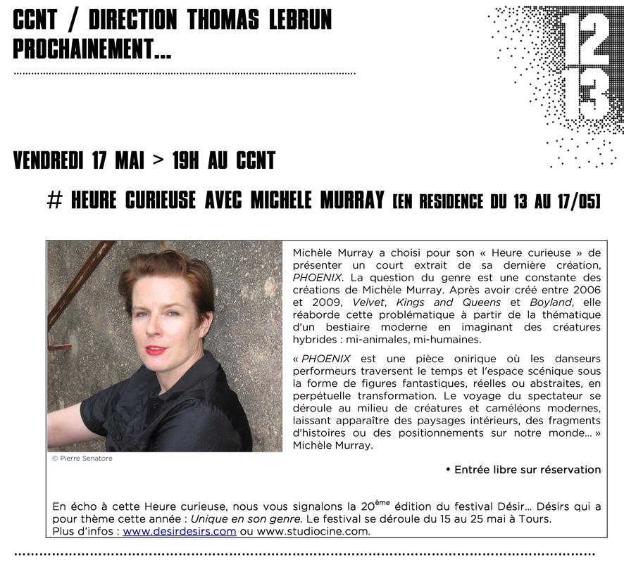 Newsletter Heure curieuse